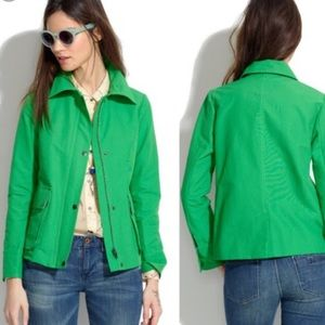 Madewell Cloud Cover Green Jacket, size XS